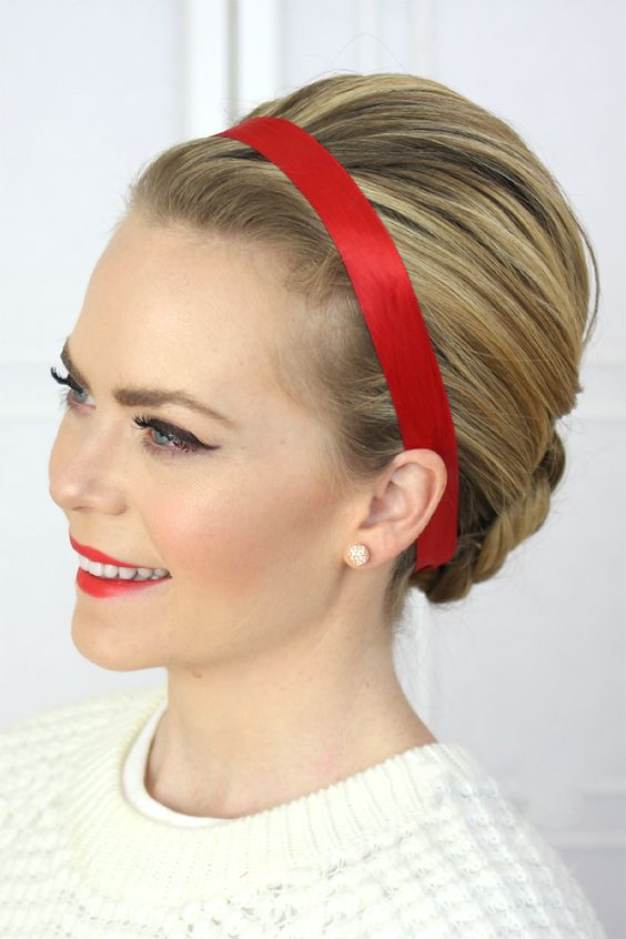 Ways to Rock Ribbon in Your Hair