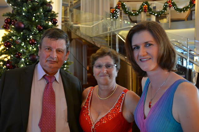 Celebrity Eclipse Formal Evening family
