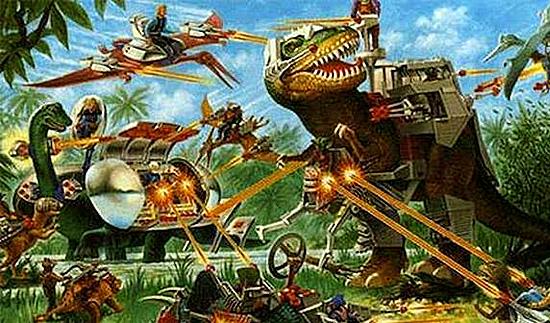 Jurassic Park - Dinossauros de Guerra