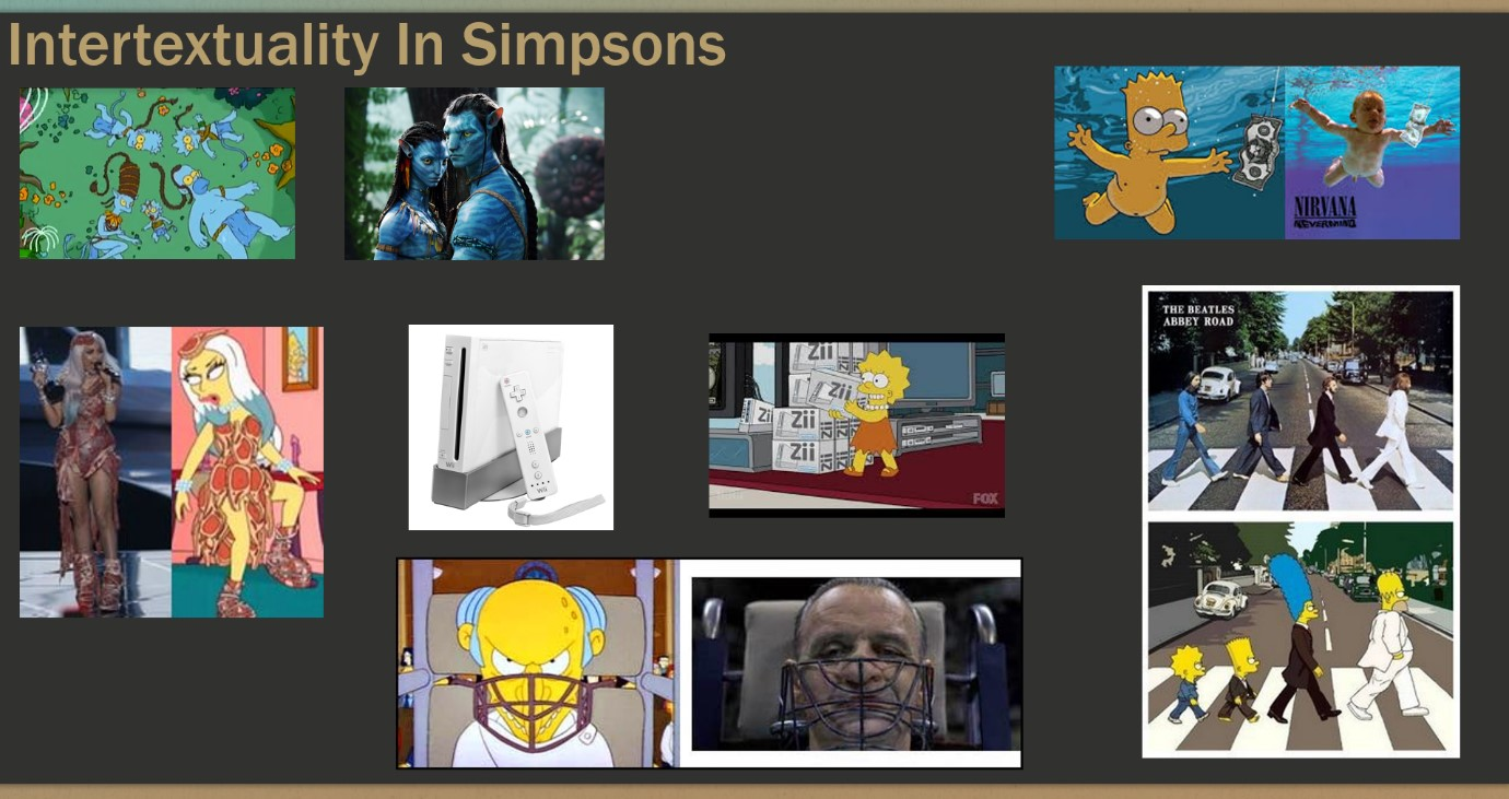 Intertextuality In Simpsons + Scary Movie (DG)