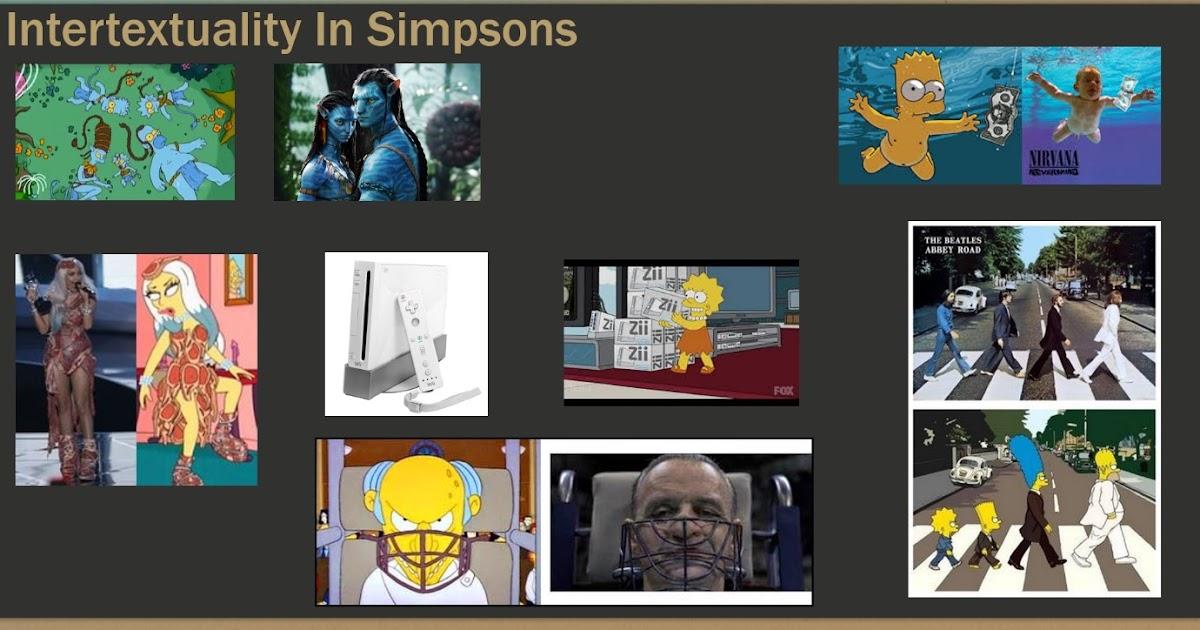 Intertextuality In Simpsons + Scary Movie (DG)