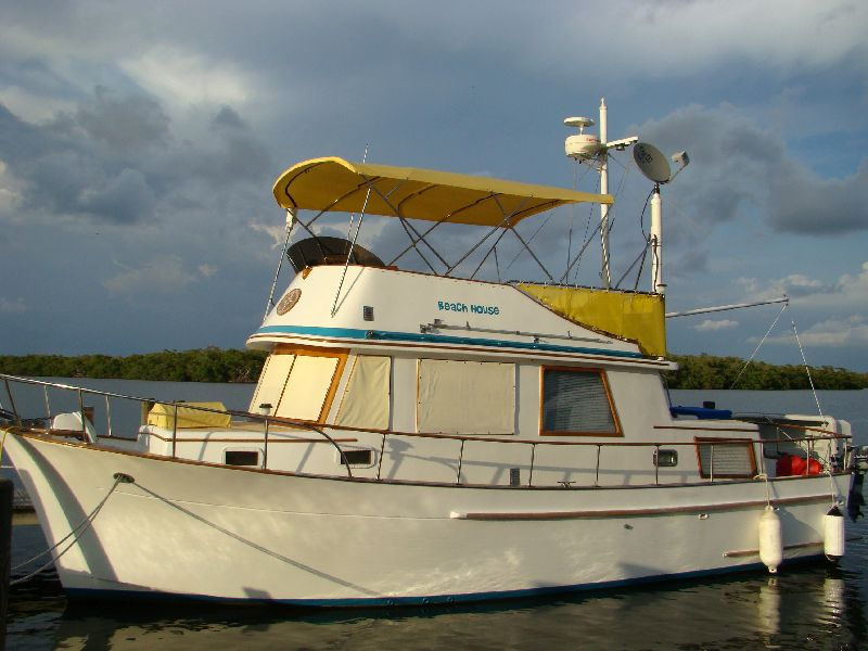 The Trawler Beach House Ford Lehman Diesel Oil And Filter Change