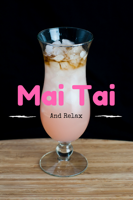 This Mai Tai cocktail is everything you wanted in a Mai Tai.  The perfect rum cocktail.