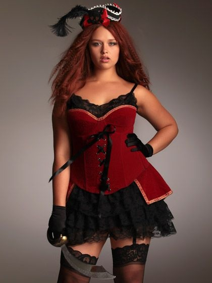 Hips and Curves Two Piece Velvet Corset and Skirt Set