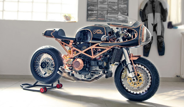 Ducati Monster độ Cafe Racer