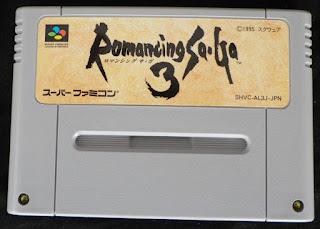 Romancing SaGa 3 - Cartucho delante