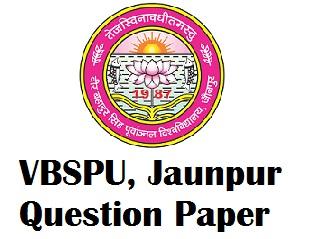 Veer Bahadur Singh Purvanchal University Model Question Papers