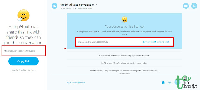 Sử dụng Skype không cần đăng ký tài khoản