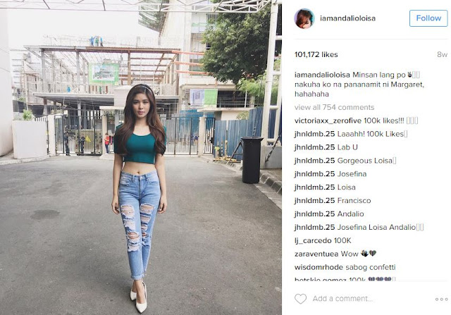 7 Photos Of Loisa Andalio Flaunting Her Sexy Body On Social Media