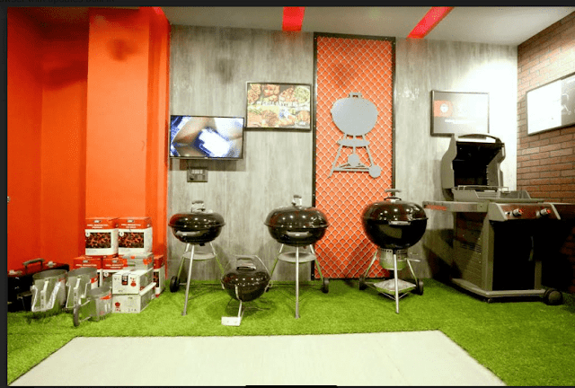 Weber brings 'Covered Grilling Concept' to Millennium city!