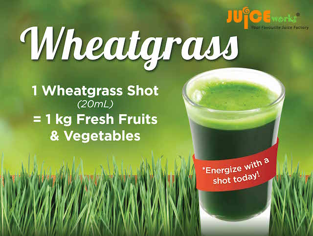 Superfood Wheatgrass @ JuiceWorks Malaysia