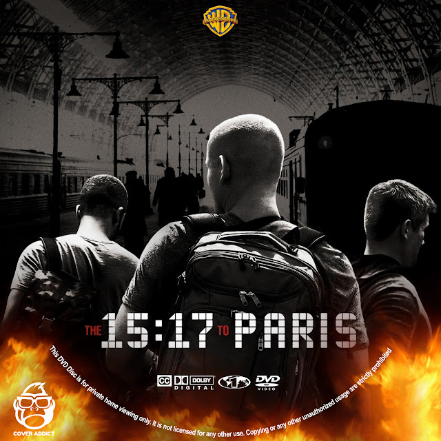 The 15:17 to Paris DVD Label
