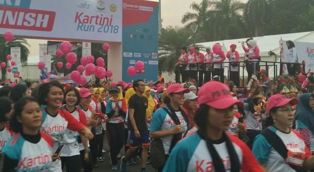 'Kartini Run 2018' Digelar di Silang Monas