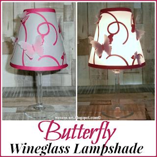 ButterflyLampshade wesens-art.blogspot.com