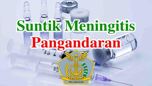 Alamat Tempat Suntik Vaksin Meningitis di Pangandaran