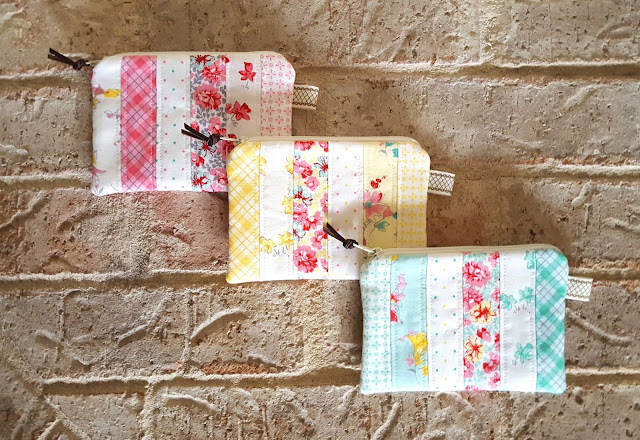 Lily Pouches by Heidi Staples of Fabric Mutt