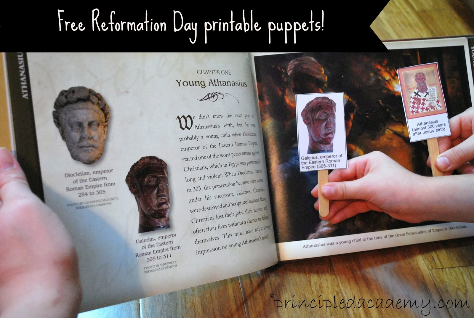 Reformation Day Puppets Free Printables