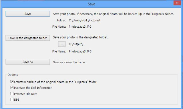 Cara Memperkecil Ukuran Foto Menggunakan PhotoScape