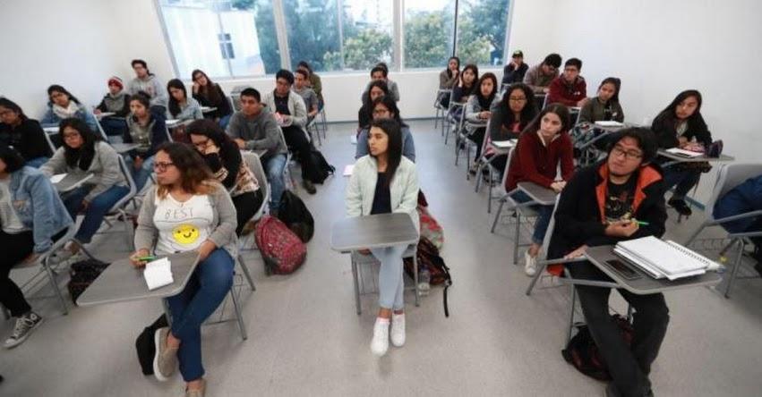 Lista completa de universidades que tienen licencia de SUNEDU