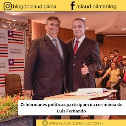 Celebridades politicas participam da cerimônia de posse de Luis Fernando