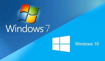 Windows 7'den Windows 10'a Yükseltme Sürümleri