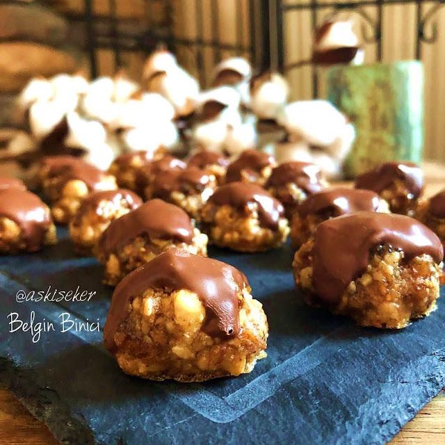 Cevizli incirli atıştırmalıklar kurabiye tarifi nasıl yapılır kolay nefis lezzetli videolu tatlı yemek tarifleri Walnut fig cookies dessert recipe delicious yummy tasty