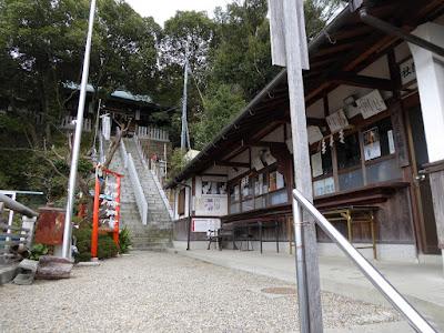 星田妙見宮 拝殿と社務所