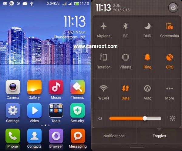 (4.3) ROM Xiaomi MIUI v5 Andromax C2 (UPDATE) 2