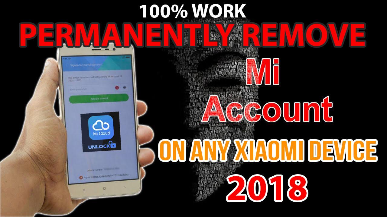 100% Mi Cloud Account Remove Permanently - TechMizan