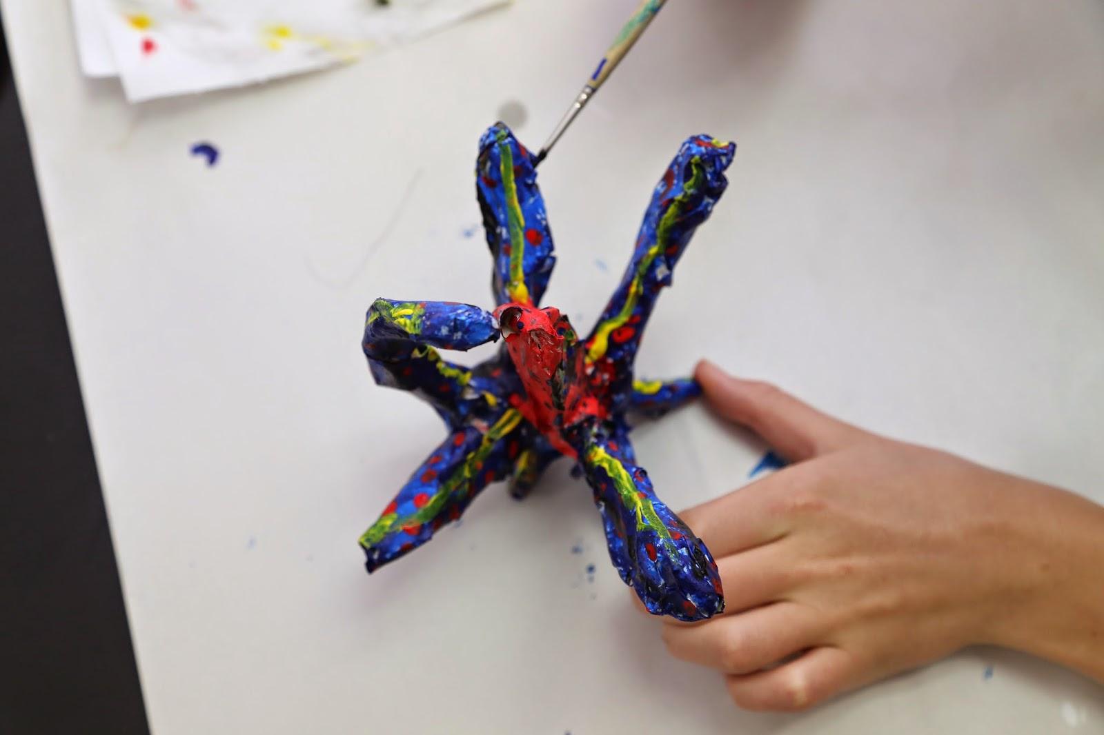 Grauer Art Alebrije painting 7th Grade Art