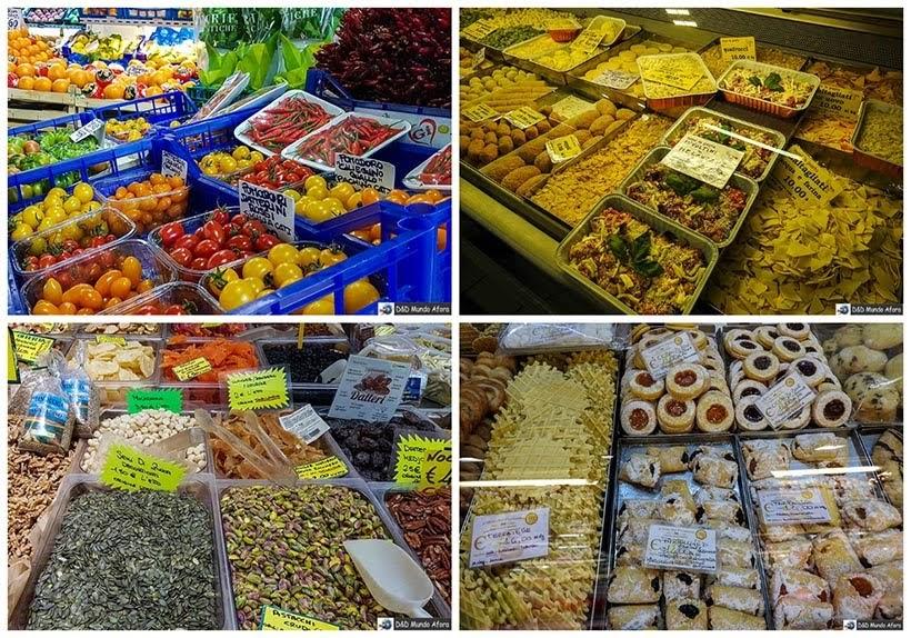 Mercado central em Roma - Diário de Bordo: 3 dias em Roma
