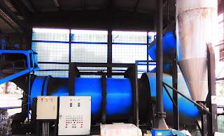 Pemasangan dan Perbaikan Refractory Fire Brick,Castable pada Rotary Dryer