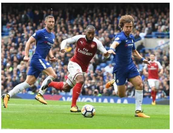 Chelsea 0-0 Arsenal: London derby ends in stalemate as David Luiz sees Red