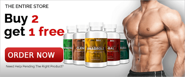 Crazy Bulk Discounts - Buy 2 Get 1 Free