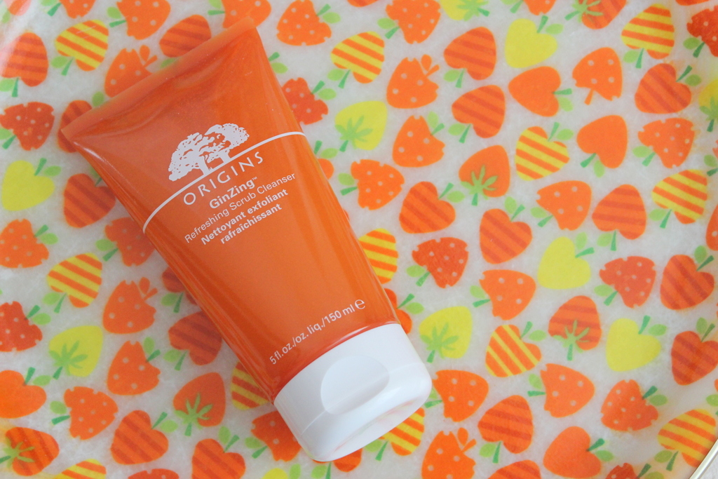 Origins Ginzing Refreshing Scrub Cleanser review - Lovely Girlie Bits