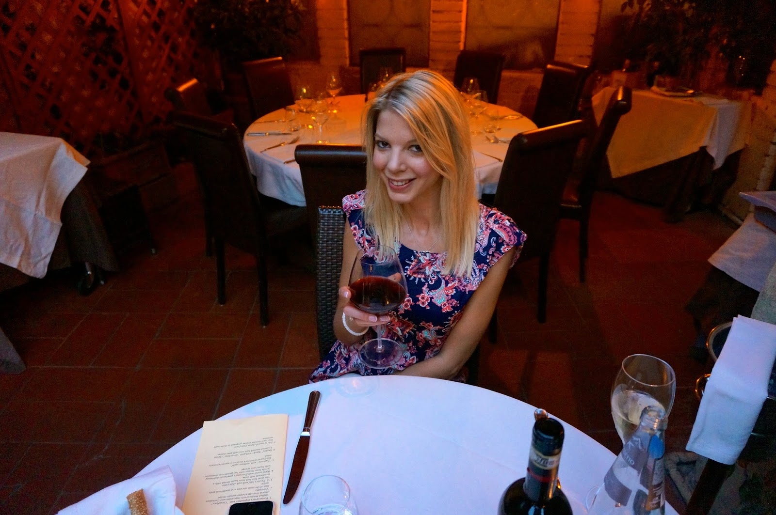 Our Honeymoon: My Favourite Restaurant in the World