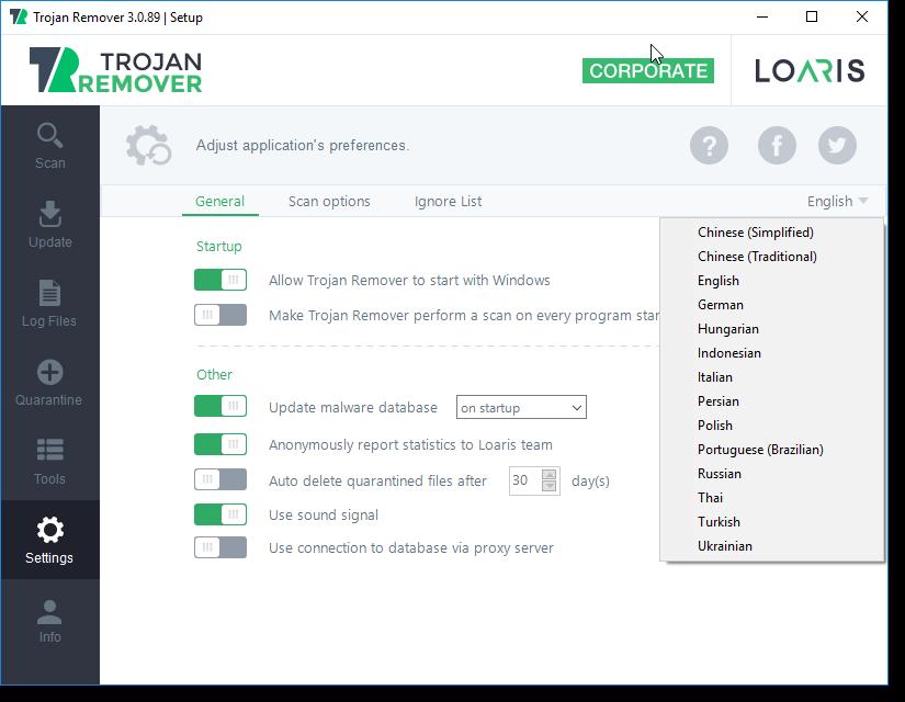 Resultado de imagen para Loaris Trojan Remover logo 2019