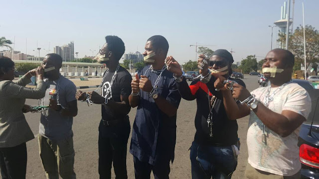 #OurMumuDonDo Activists Hold Dramatic Protest At The Ministry Of Foreign Affairs