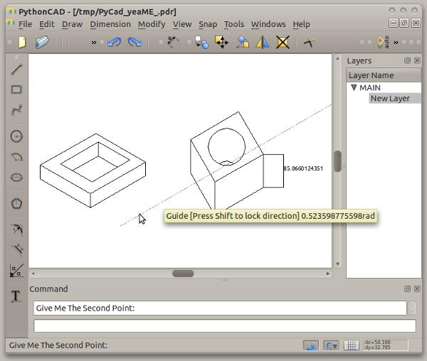 83 Menggambar Part Mesin Dengan Software Cad Gratisan