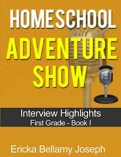 Homeschooling, Homeschool, Homeschooler, homeschool adventure show, homeschool interviews, homeschool book, eb joseph, ericka bellamy joseph,