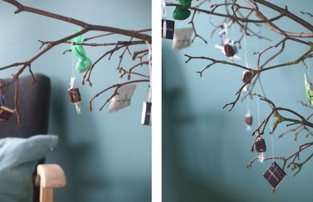 Nytænkning af fastelavnsris med rustikke grene og lækker pynt