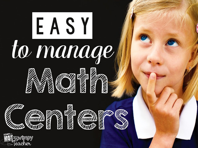 Great tips for starting guided math and math centers