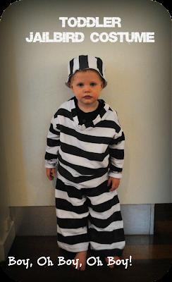 toddler jailbird costume