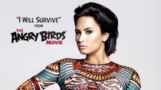 """Escucha la canción de Demi Lovato para la película de """"Angry Birds""""."""