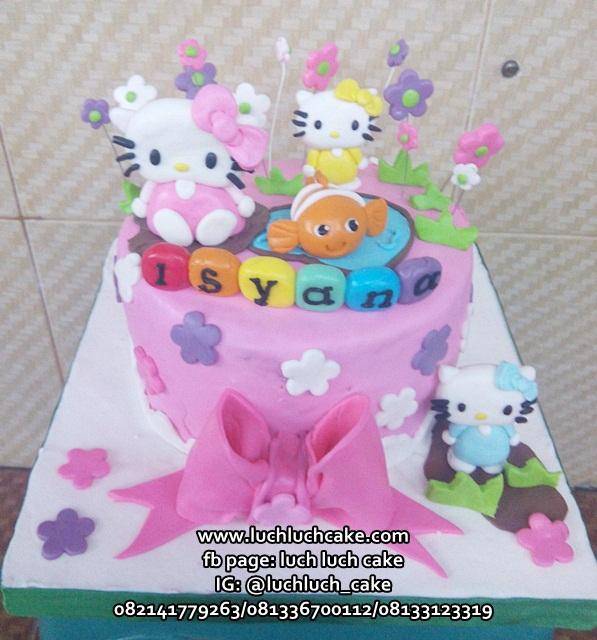 Trend Kuliner Masa Kini 19 Kue Tart Fondant Hello Kitty
