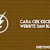 Cara Cek Kecepatan Loading Website dan Blog Dengan Mudah