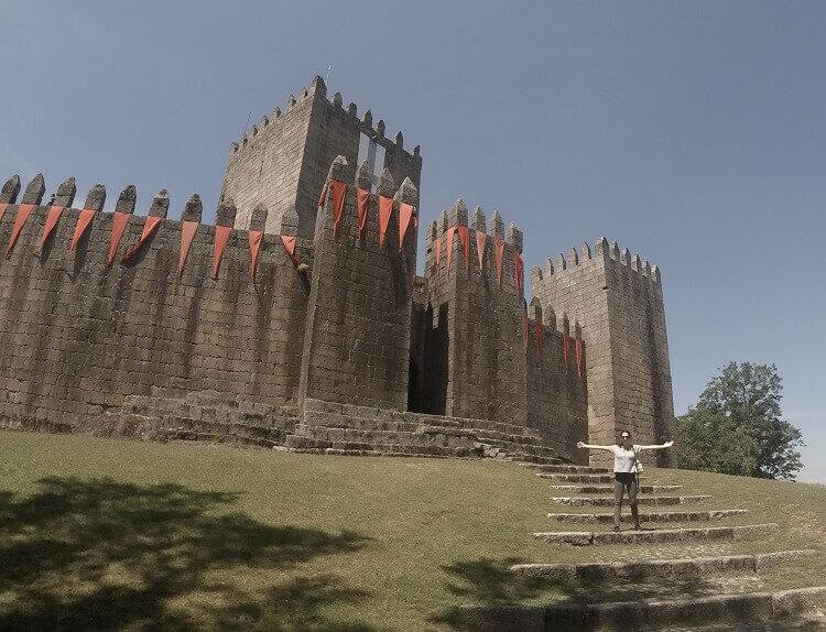 guimaraes portugal castelo clima en europa viajar a europa