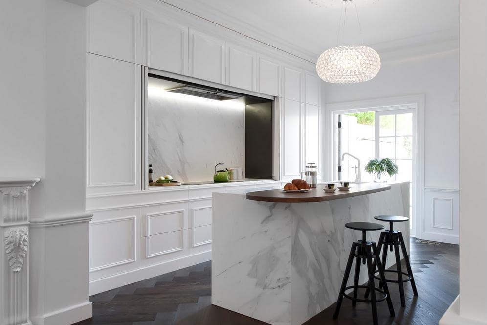 El estilo franc s en la cocina todo un deleite visual cocinas con estilo - Cocinas con estilo ...