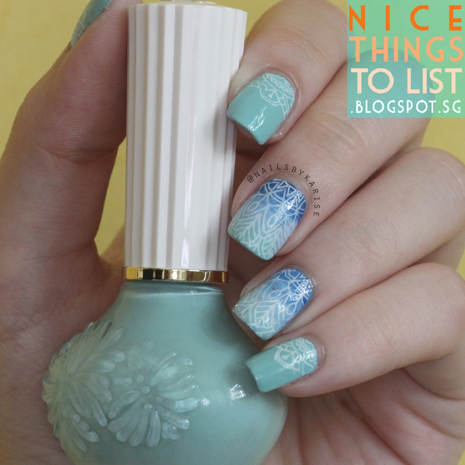 BornPrettyStore XL Clear Stamper Review & Nail Art Tutorial - Nice ...
