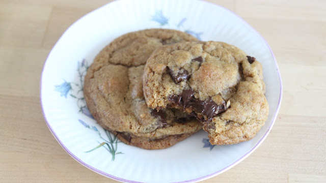 sweetemelynes vegan chocolate chip cookies